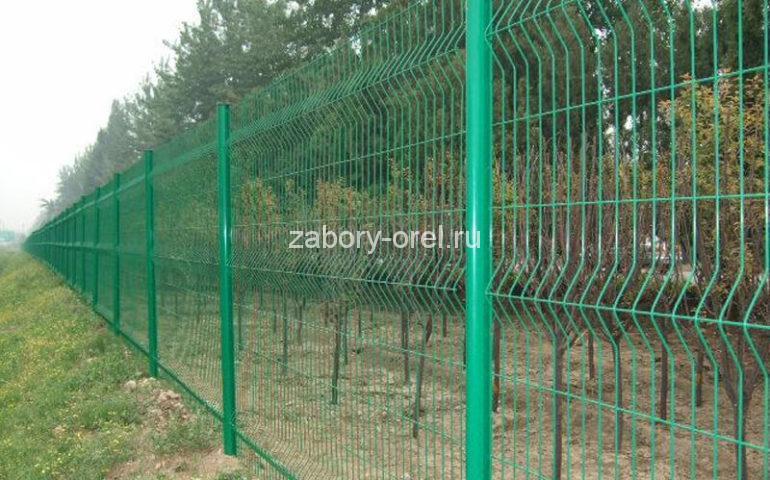 3д забор металлический цена