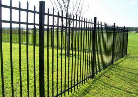 забор из профильной трубы в Орле