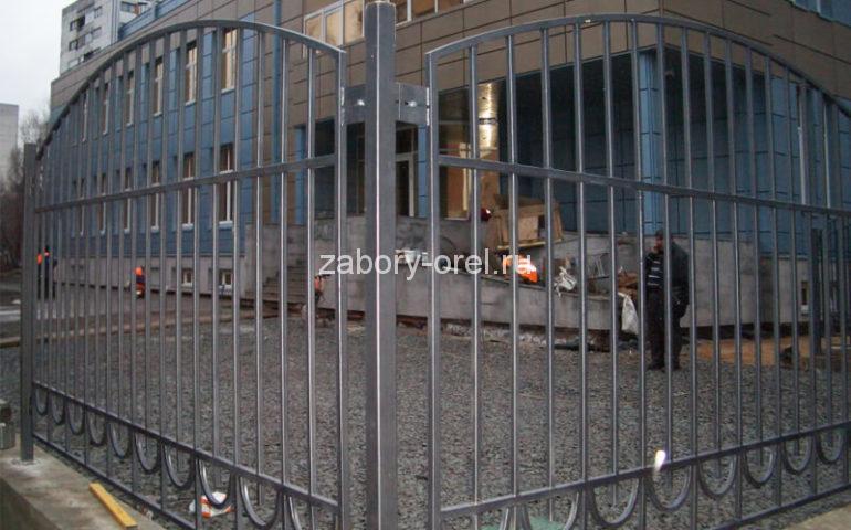 забор из профтрубы в Орле